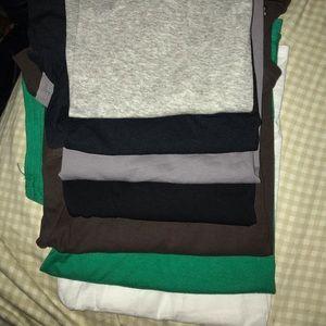 Women's Shirt Bundle Of 7 tops  Sz lg
